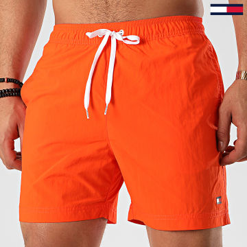 Tommy Hilfiger - Short De Bain Medium Drawstring 1080 Orange