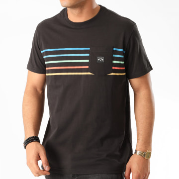 Billabong - Tee Shirt Poche Riot Spinner Noir