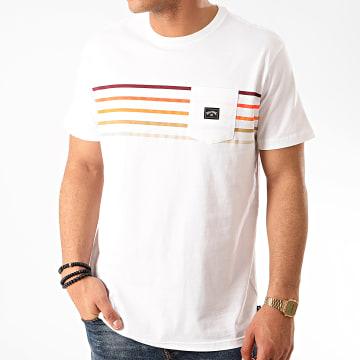 Billabong - Tee Shirt Poche Riot Spinner Blanc