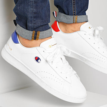Champion - Baskets Court Club Patch S21363 White Red Blue