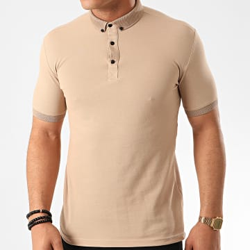Classic Series - Polo Manches Courtes 2124 Beige