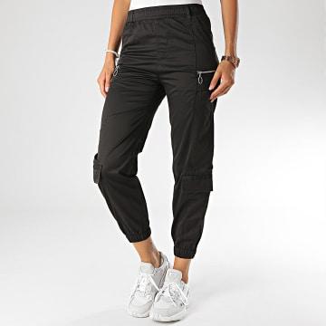Girls Only - Pantalon Jogging Femme N616 Noir