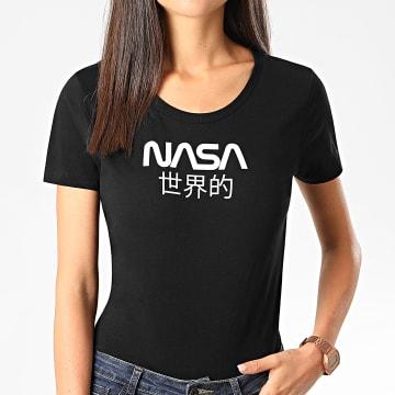 NASA - Tee Shirt Femme Japan Noir