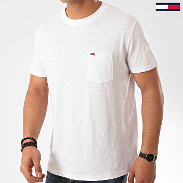 Tommy Jeans - Tee Shirt Poche 7811 Blanc