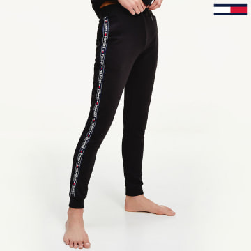 Tommy Hilfiger - Pantalon Jogging Femme A Bandes 0564 Noir
