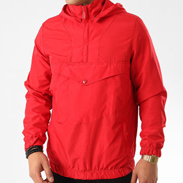 Uniplay - Veste Outdoor Capuche KW-1 Rouge