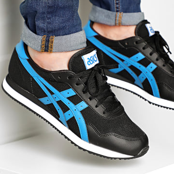 Asics - Baskets Tiger Runner 1191A207 Black Electric Blue