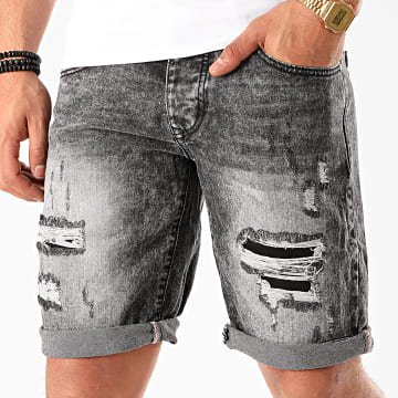 Frilivin - Short Jean VIP-234 Gris Anthracite