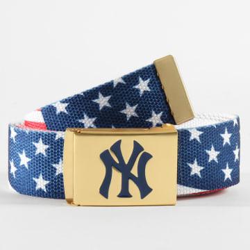 Urban Classics - Ceinture New York Yankees 10545 Bleu Marine Rouge Blanc
