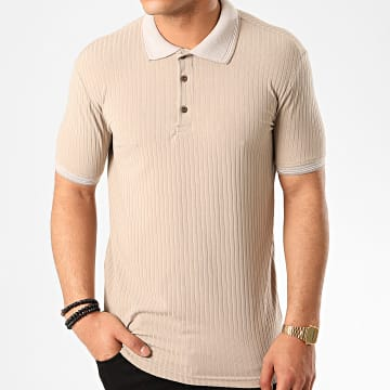 Ikao - Polo Manches Courtes F839 Beige