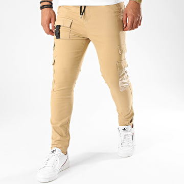 Project X - Pantalon Cargo 2040075 Beige