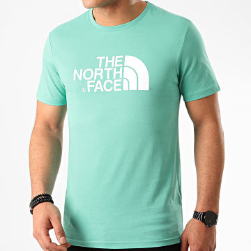 The North Face - Tee Shirt Easy TX3B Bleu Turquoise