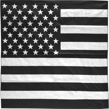 Urban Classics - Bandana 10000 USA Noir Blanc