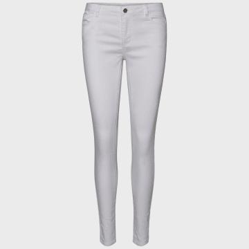 Vero Moda - Jean Slim Femme Julia 10211618 Blanc