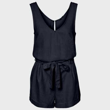 Vero Moda - Combishort Helen Bleu Marine