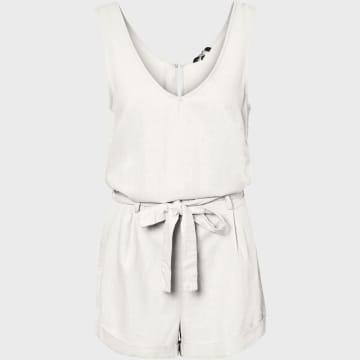 Vero Moda - Combishort Helen Blanc