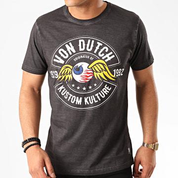 Von Dutch - Tee Shirt Ralf Gris Anthracite