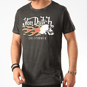 Von Dutch - Tee Shirt Flam Gris Anthracite