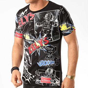 Zelys Paris - Tee Shirt Vroom Noir