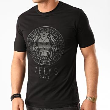 Zelys Paris - Tee Shirt A Strass Balbo Noir
