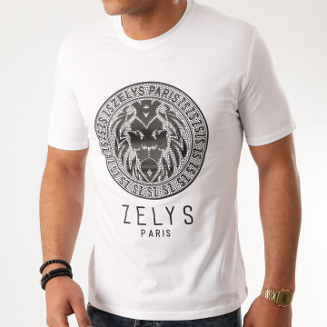 Zelys Paris - Tee Shirt A Strass Balbo Blanc