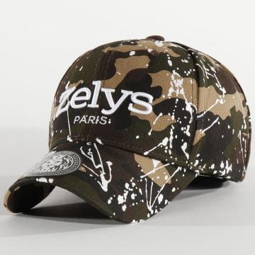 Zelys Paris - Casquette Speckle Camo Vert Kaki