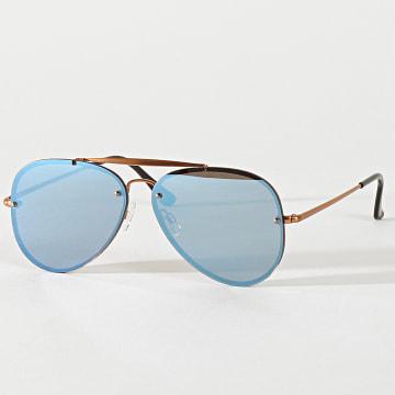 Classic Series - Lunettes De Soleil 016496 Marron Bleu