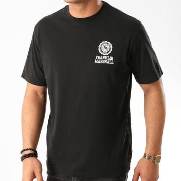 Franklin And Marshall - Tee Shirt JM3001-1001G10 Noir