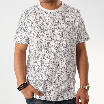Jack And Jones - Tee Short Oversize James Blanc Floral