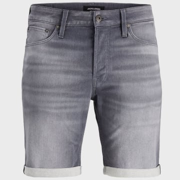 Jack And Jones - Short Jean Rick Icon Gris