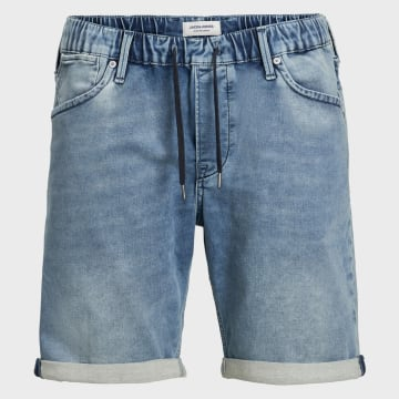 Jack And Jones - Short Jean Rick Dash Bleu Denim