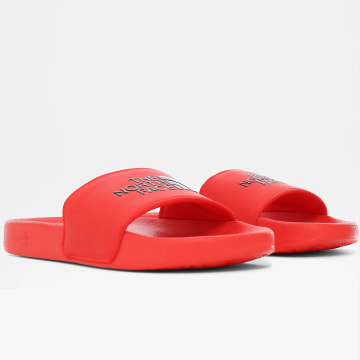 The North Face - Claquettes Base Camp Slide II Rouge