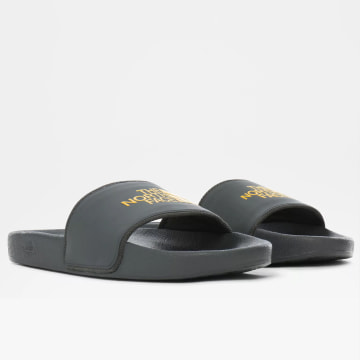The North Face - Claquettes Base Camp Slide II Gris Anthracite