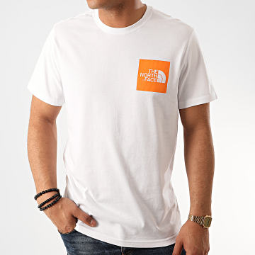 The North Face - Tee Shirt Fine CEQ5 Blanc