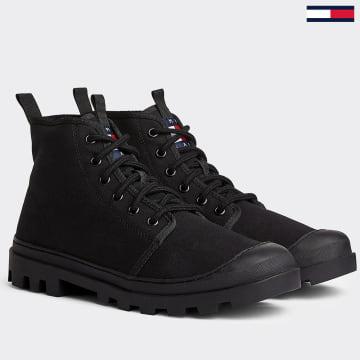 Tommy Jeans - Baskets Classic Mid 0402 Noir