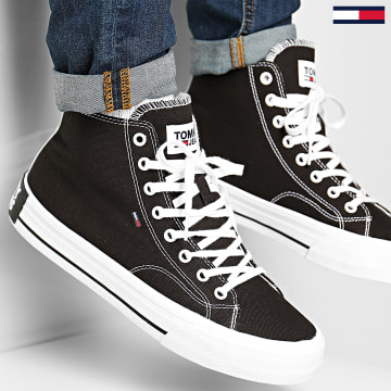 Tommy Jeans - Baskets Classic Mid 0402 Noir