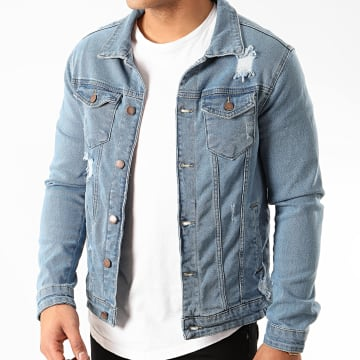 Zayne Paris  - Veste Jean VS5 Bleu Denim
