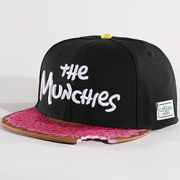 Cayler And Sons - Casquette Munchies Classic Noir
