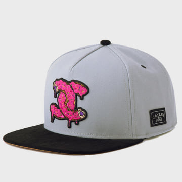 Cayler And Sons - Casquette Snapback Munchel Gris