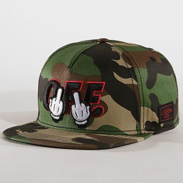 Cayler And Sons - Casquette Snapback Seriously Camouflage Vert Kaki