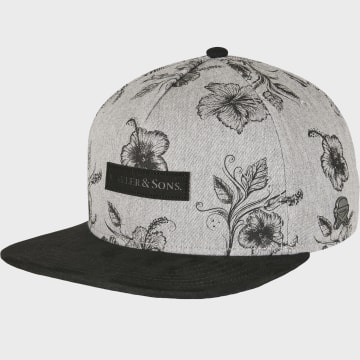 Cayler And Sons - Casquette Snapback Vibin Gris