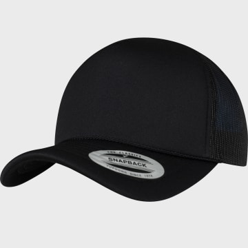 Flexfit - Casquette Trucker 6005FC Noir Noir Noir