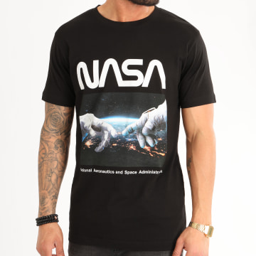 NASA - Tee Shirt Astronaut Hands Noir
