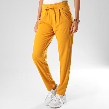 Only - Pantalon Femme Catia Jaune