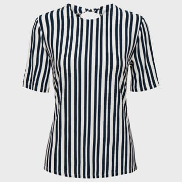 Only - Tee Shirt Femme Melanie 15198430 Blanc