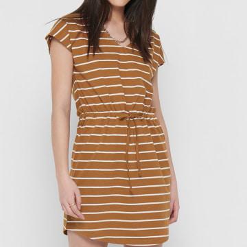 Only - Robe Femme 15207794 Orange