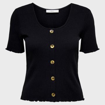 Only - Top Femme 15198277 Noir