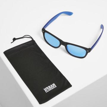 Urban Classics - Lunettes De Soleil Likoma Mirror TB3718 Noir Bleu