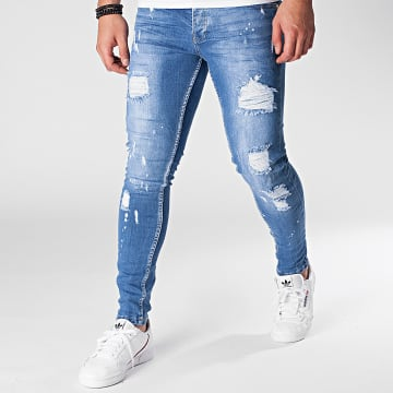Black Needle - Jean Skinny 3099 Bleu Denim