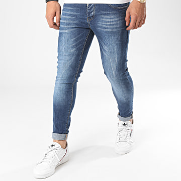 Black Needle - Jean Slim 3123 Bleu Denim
